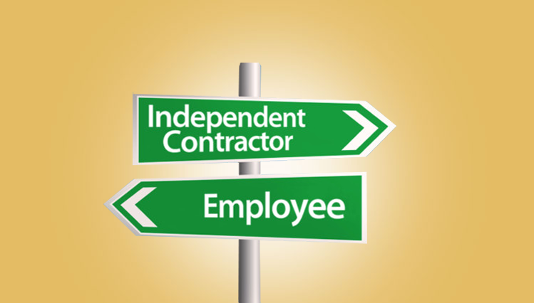 employee or independence contractor 2 employee or independent contractor  individual is an employee or an independent contractor under the  of control and the degree of independence must be.